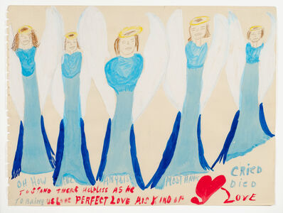 Margaret Brown, 'Oh How the Angel...', 1985