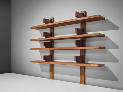 Pierre Chapo Solid Elm Bookshelf B17B