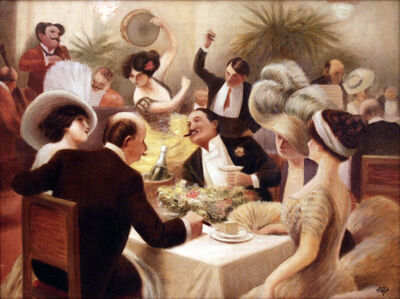 Une Soiree Animee - The Animated Soiree - Dinner Party