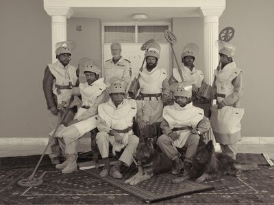 A De-mining Team From The Mine Detection Centre In Kabul