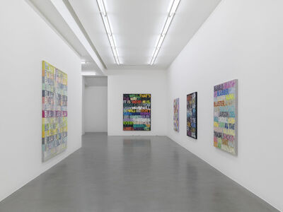 Mel Bochner: Going Out Of Business! (and other recent paintings on velvet)