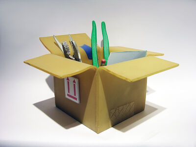 TOOLS OF THE TRADE: BOX WITH TOOLS