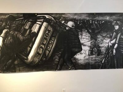 Dareece Walker, 'The Riots', 2015