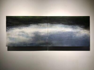 Margaret Ezekiel, 'Riverwalk Curve Dyptich', 2017