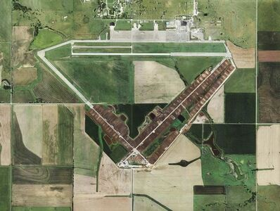 Mishka Henner, 'Black Diamond Feeders, Herington Air Base, Kansas', 2012-2013