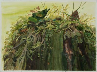 Kristin Musgnug, 'Study for Moss-Topped Stump', 2016