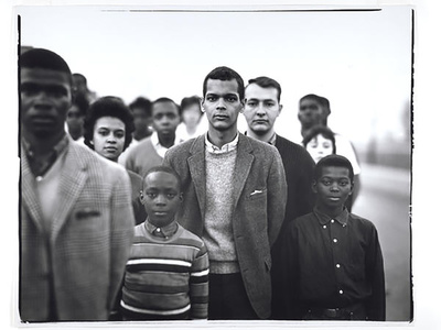 Student Non-Violent Coordinating Committee headed by Julian Bond, Atlanta Georgia March 23