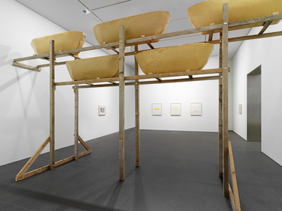 Wolfgang Laib 'Du wirst woanders hingehen (You will go somewhere else)'