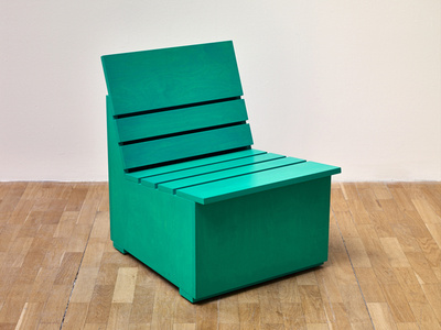 Sunny Chair for Whitechapel (2016) (Green)
