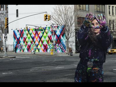 Maya Hayuk (USA), New York