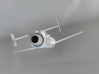 Baka con punti laser