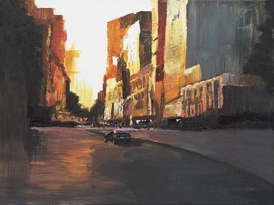 Vacant City, Early Morning original
