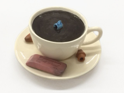 cup with mini-cup