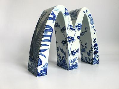 McDonald's - Four Gentlemen (Plum, Iris, Bamboo and Chrysanthemum)