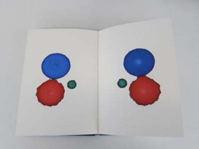 Livro três canetas
