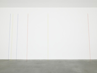 Untitled (Six-part Leaning Construction)
