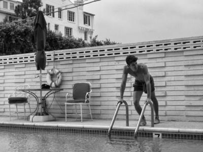 Gabriel by the Pool, Hollywood, CA