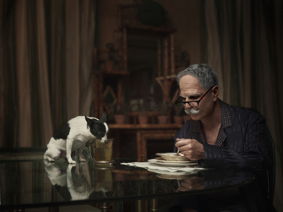 """Dogs Dinner"" from the series, Maybe"