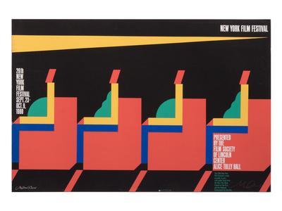New York Film Festival Poster