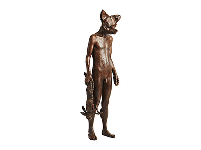 Dog Mask Figure