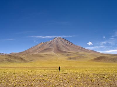 Baja el volcán