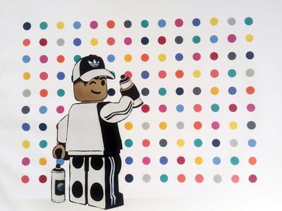 Lego Spot Painter