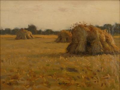 Haystacks, France