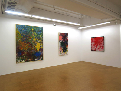 `A Serious Bluffer` Solo Exhibition of Shozo Shimamoto