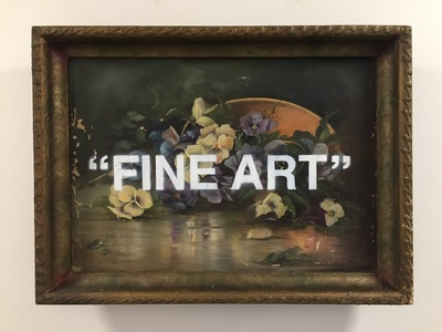 """Fine Art"""