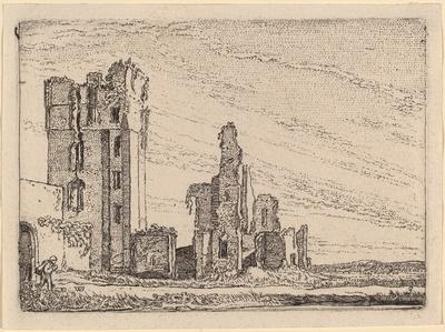 Two Ruins (Huys te Kleef near Haarlem)