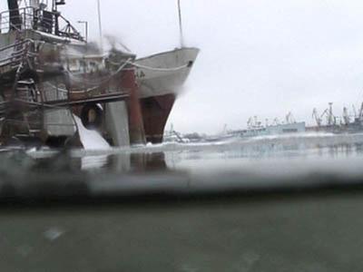 Le port de Kaliningrad