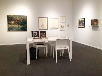 Anglim Gilbert Gallery at Frieze Masters 2015