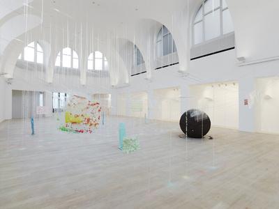 Installation view kestnergesellschaft 2013