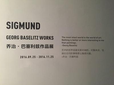 SIGMUND-Georg Baselitz Works