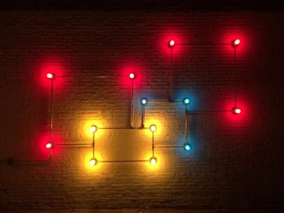 Conduits in Red, Yellow and Blue (Fig. 42)