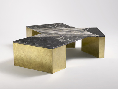 Mixed Marble Coffee Table