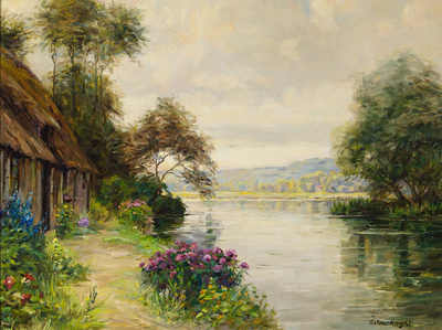 A Cottage by a River