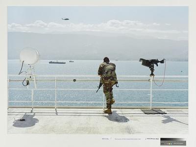 Ship Security, US Naval Hospital Ship Comfort, Haiti