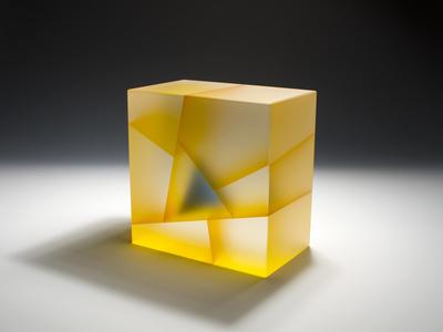 Yellow Blue Cuboid Segmentation
