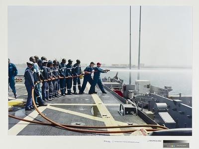 Damage Control Training, USS Nashville, Senegal