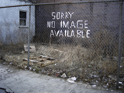 Sorry No Image Available - From the series Bag Man in New York