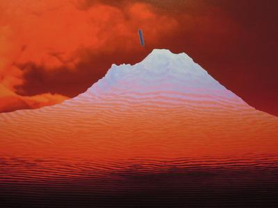 Popocatepetl interferido, perspectiva