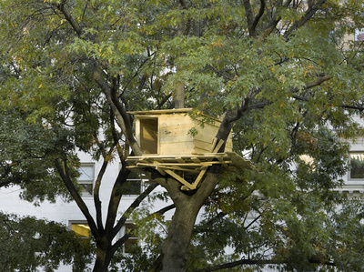 Tadashi Kawamata: Tree Huts