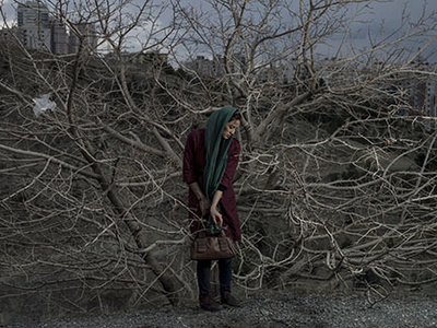 Portrait of Somayyeh, Tehran, Iran