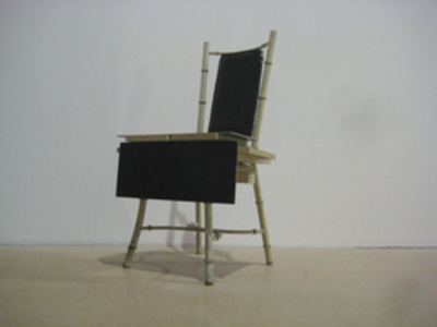 Black to Black chair