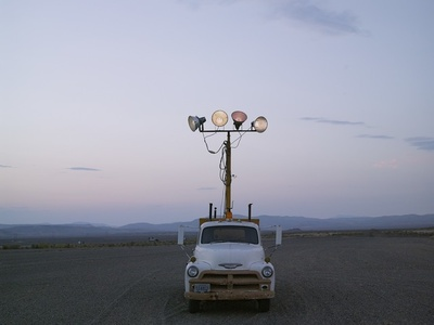 Mobile Lighting, Carlin Ranch Rodeo, Carlin, Nevada
