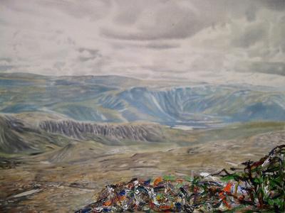Paysage nordique - Ravin