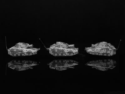 Three Racer Tanks