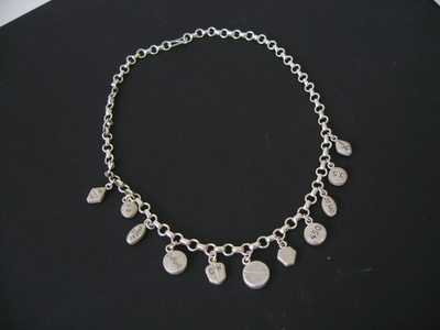 Untitled (11 charm necklace)
