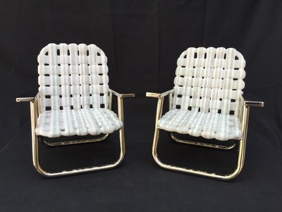 Mid Century Pool Chair